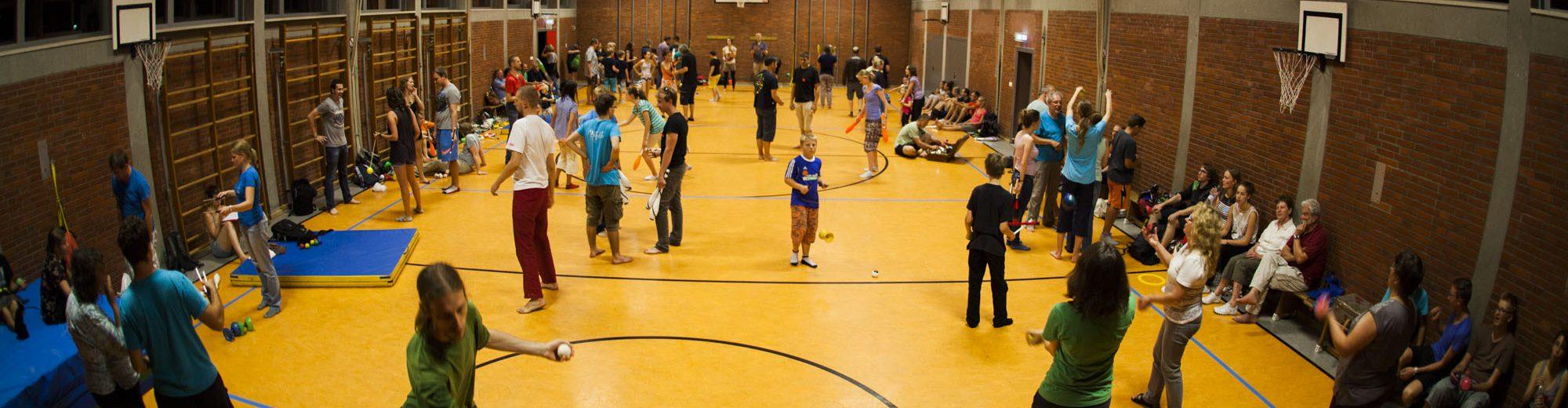 Česko-německé setkání žonglérů a kejklířů